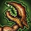 Griffes (Mutation) : Ce joueur est doté de longues GRIFFES tranchantes qui rendent les armures inutiles. Lorsqu'un adversaire est Plaqué au cours d'un Blocage, tout jet de 8 ou plus après modification passe automatiquement l'armure.