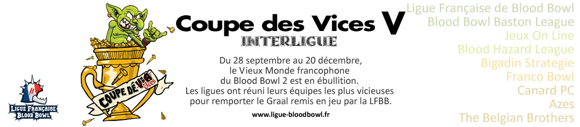 Interligue Coupe des Vices 5