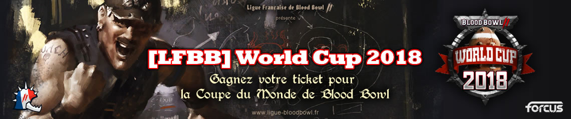 Qualification pour la BB2 World Cup 2018